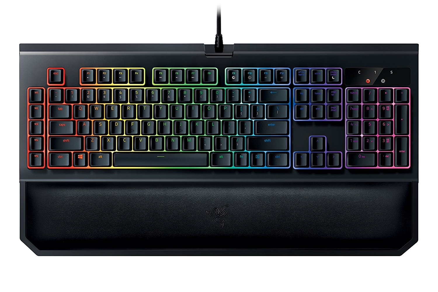 Picture of Razer Blackwidow keyboard