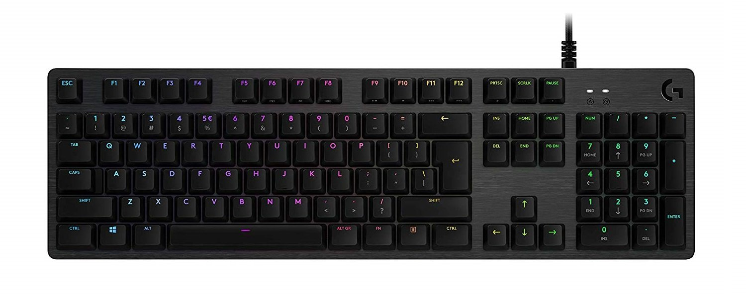 Image of G512 Carbon gaming keyboard
