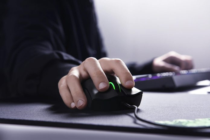Image of PC gaming mouse