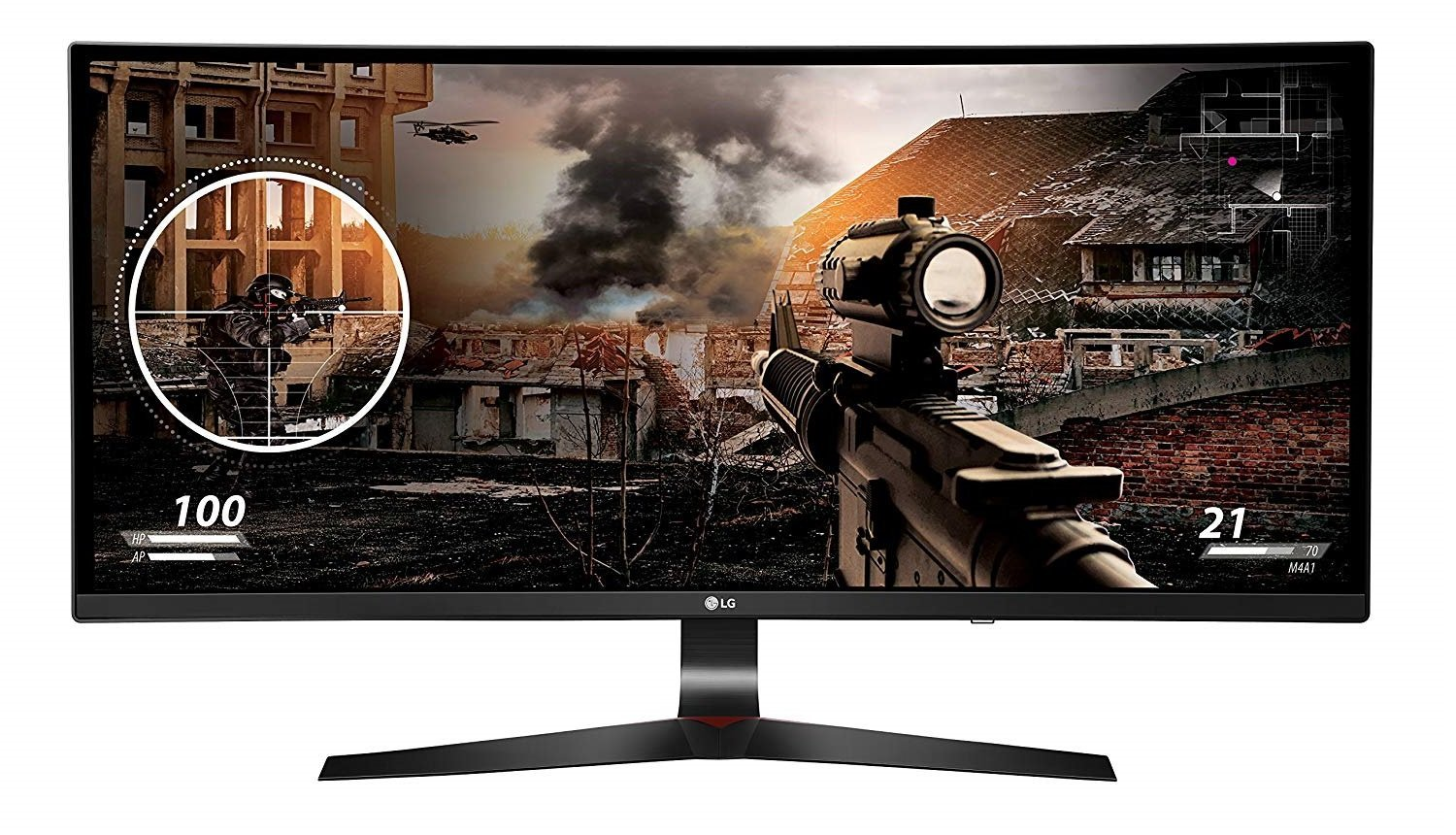 Image of ultrawide IPS panel from LG