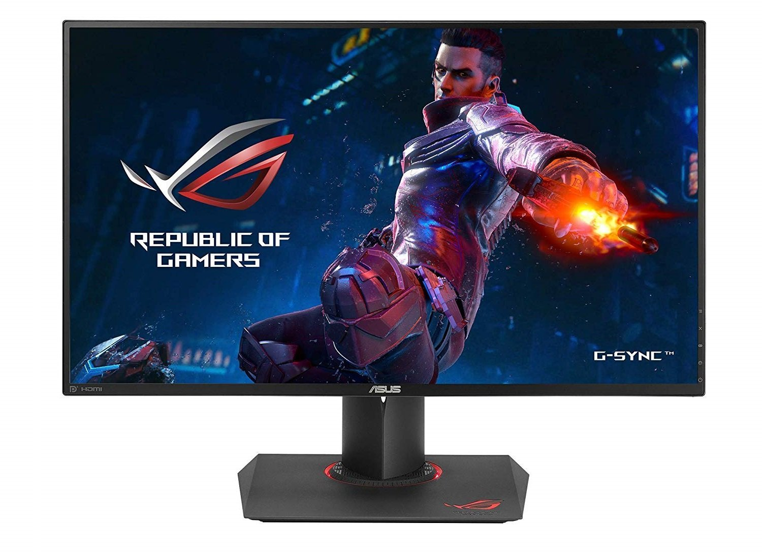 Image of 27-inch IPS panel from Asus ROG