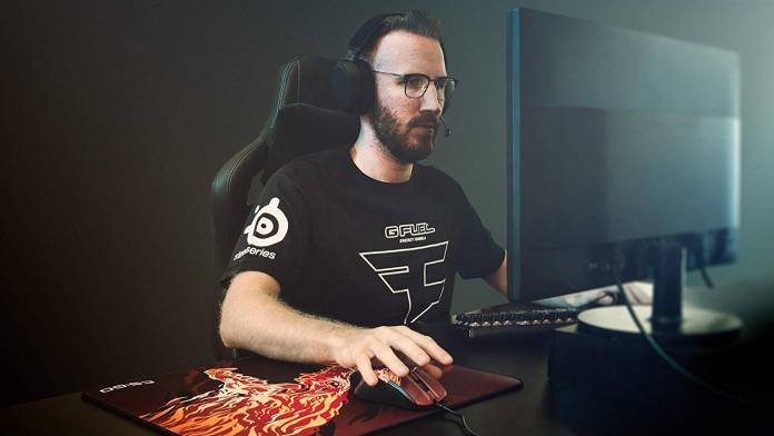 Image of professional fps gamer