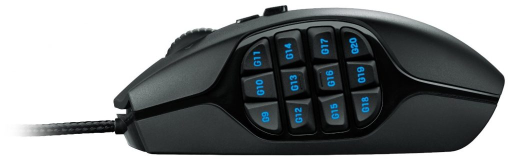 image of logitech's mmo mouse
