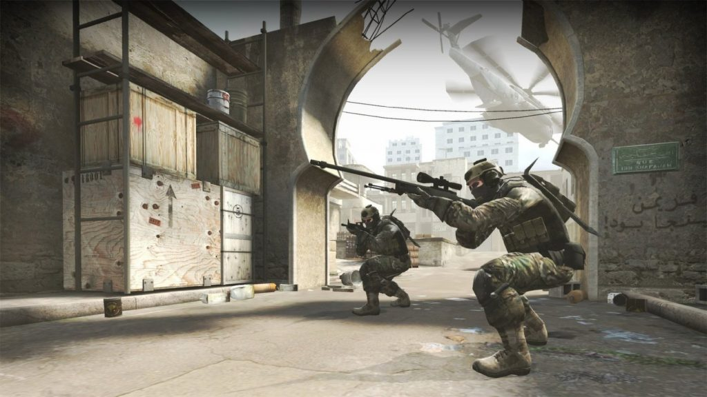 In-game screenshot of counter strike GO