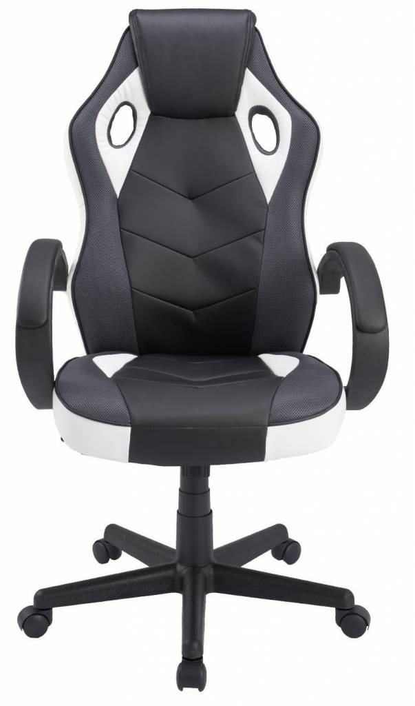Image of black and white office chair from Coavas