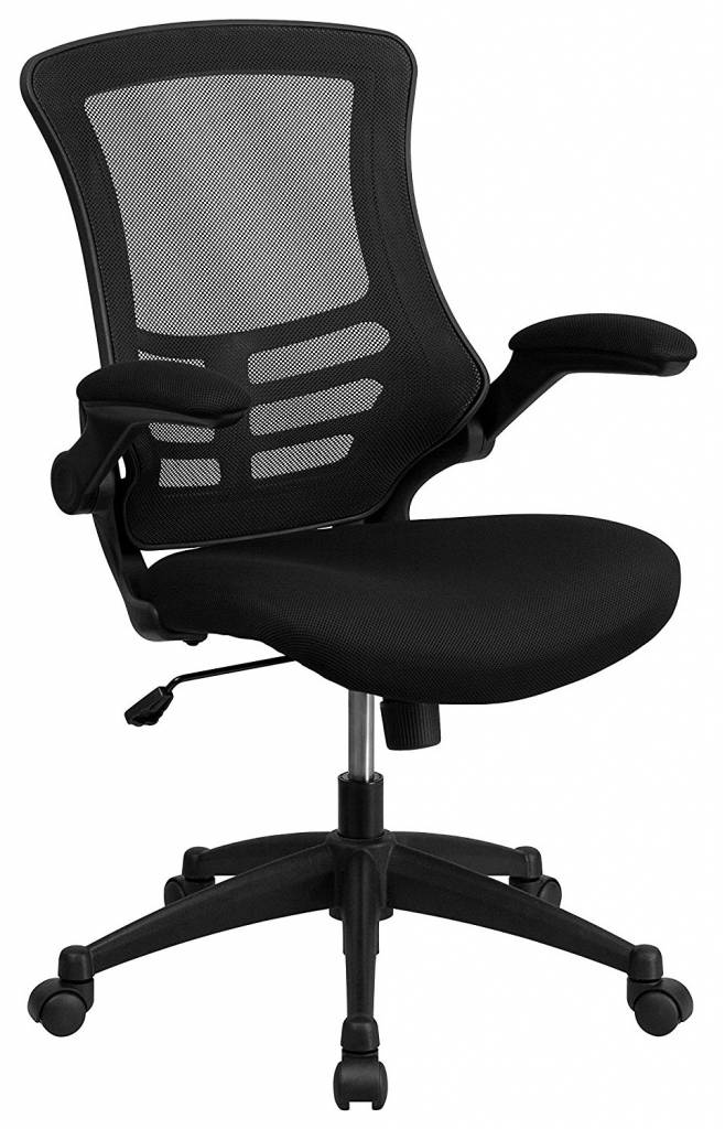 Picture of compact and affordable computer chair