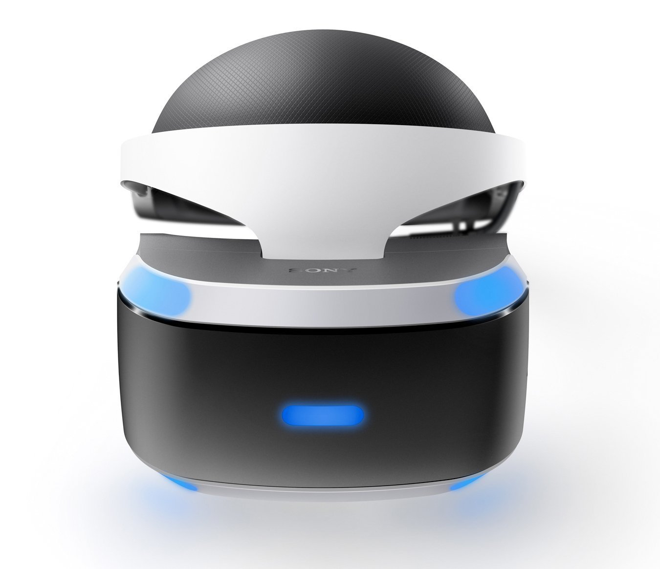 frontal image of Playstation VR headset