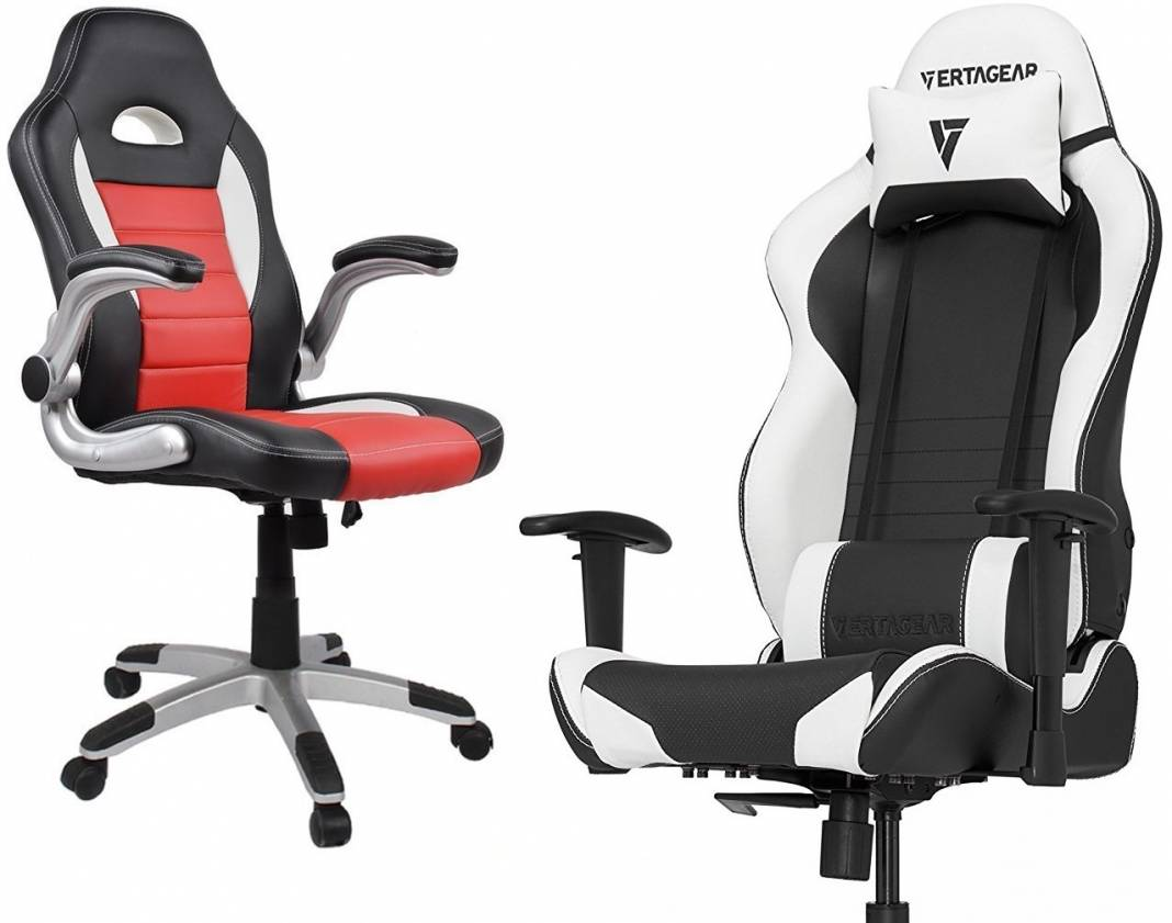 Image of the 2 the best gaming chairs