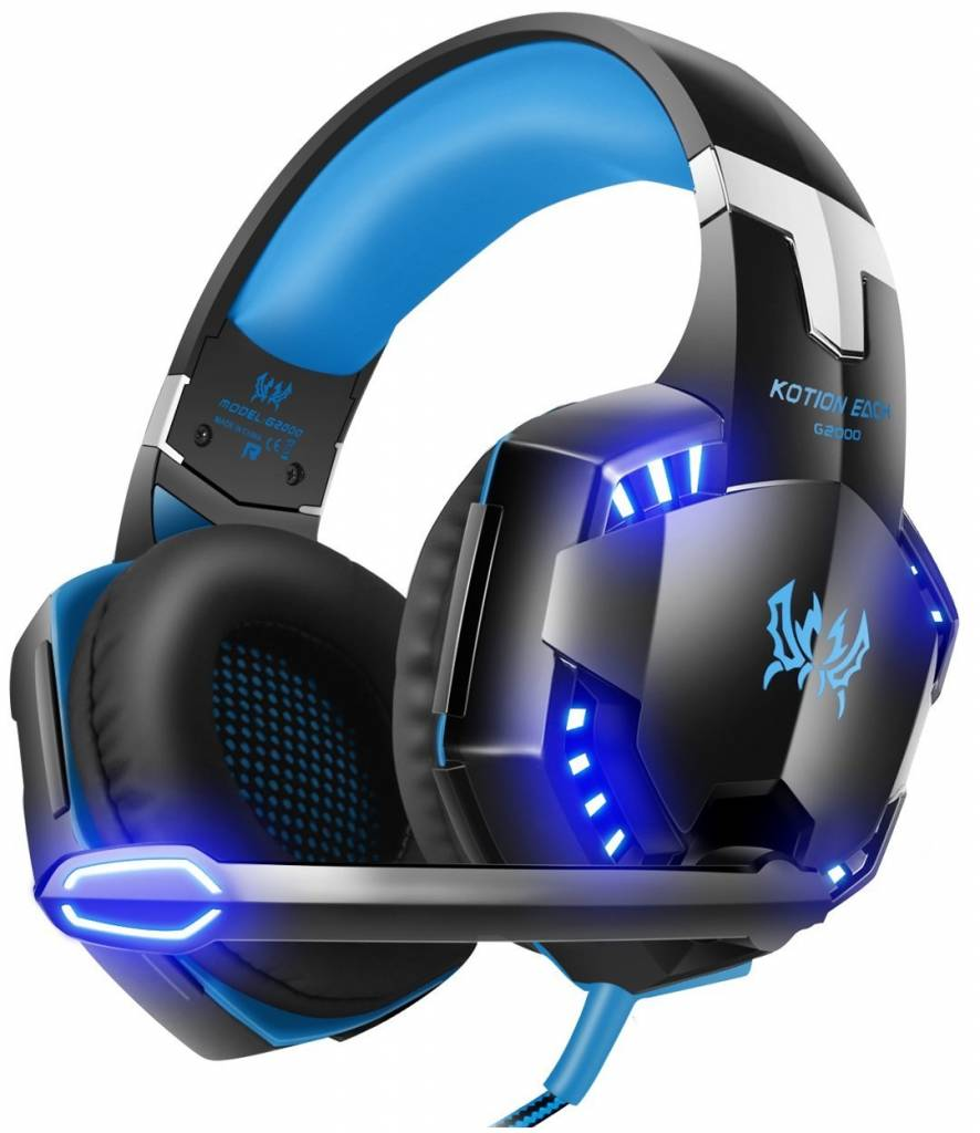 Image of G2000 budget gaming headset from Versiontech