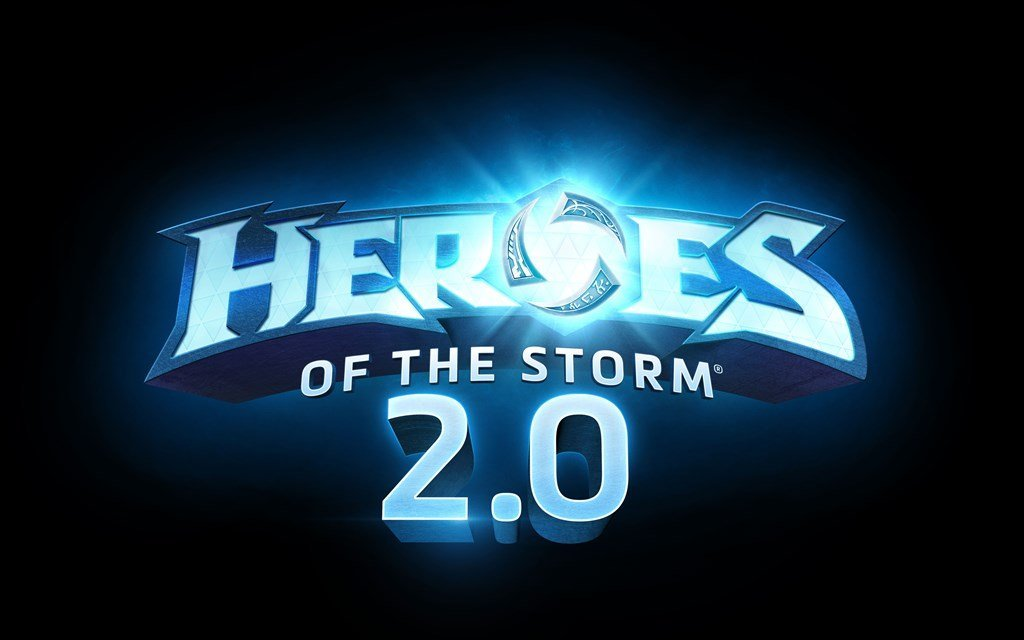 Official logo for Heroes of the Storm 2.0