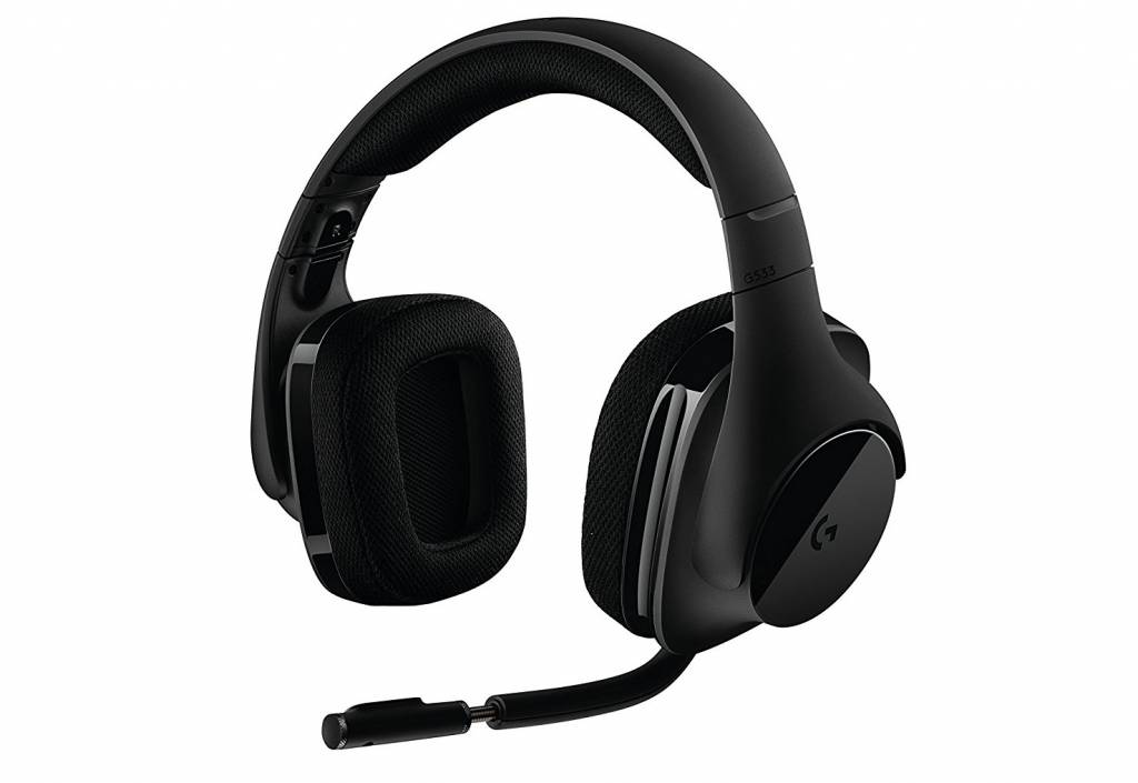 Image of Logitech G533 cordless headphones for Pc