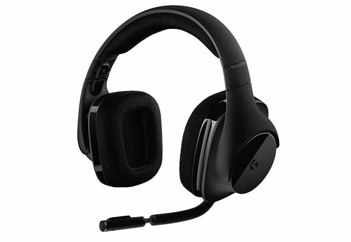Image of Logitech G533 cordless headphones for Pc