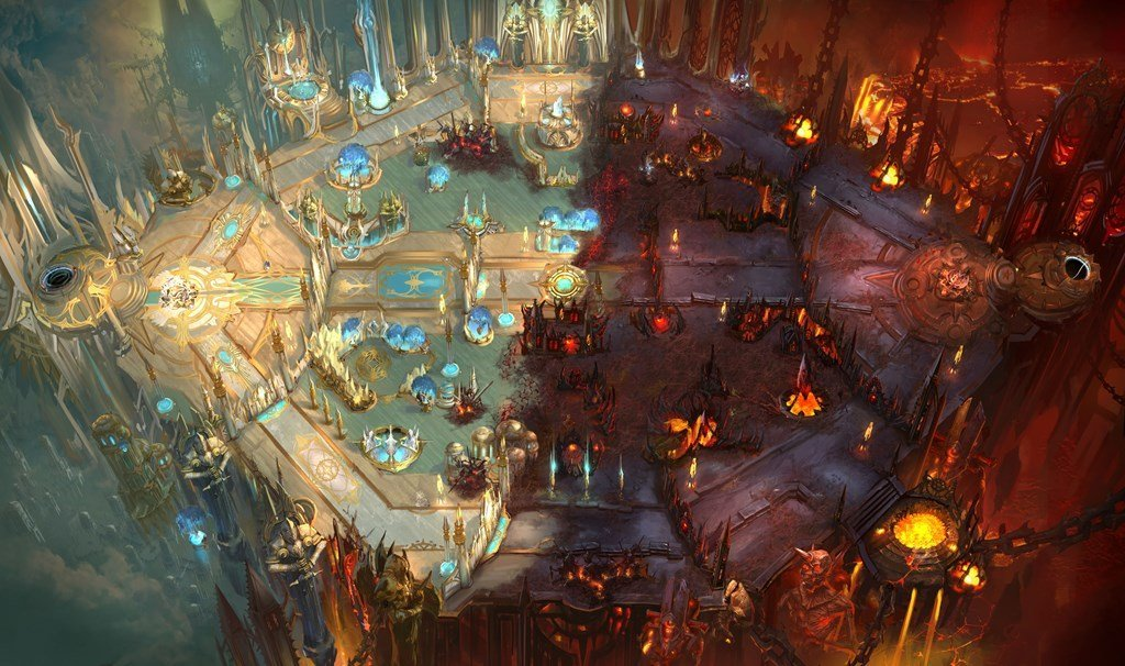 Concept art of the Hots map Battlefield of Eternity