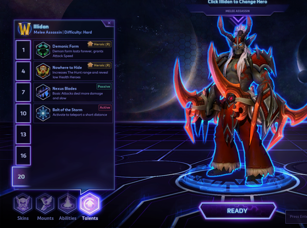 Screenshot of hereos of the storm