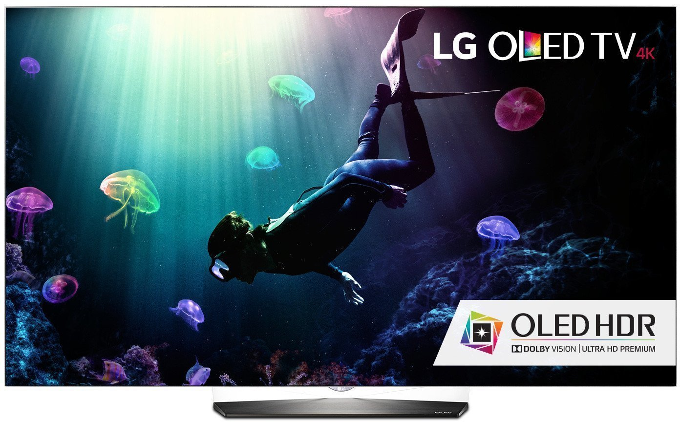 Image of OLED TV from LG with 4k