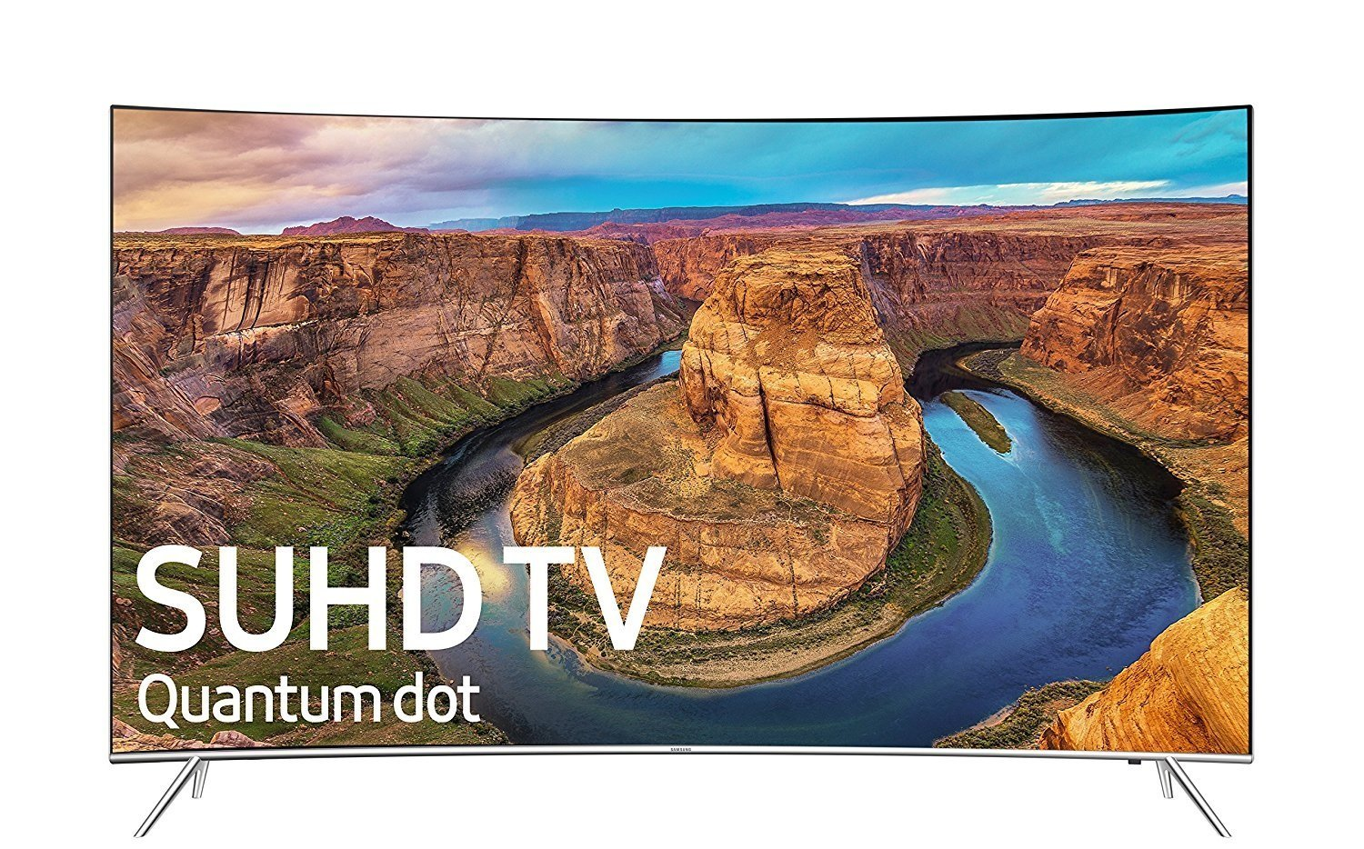 frontal picture of Samsung 4k tv