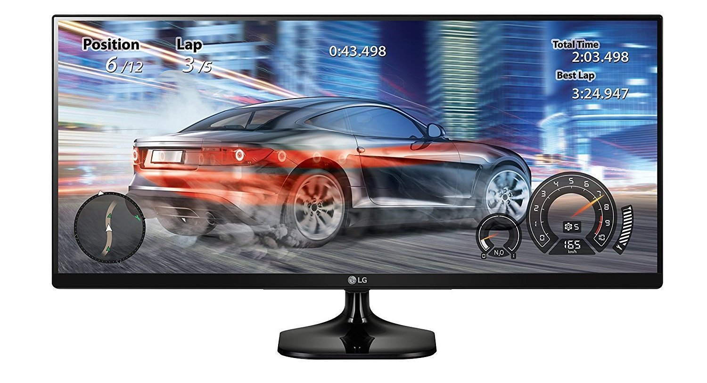 Image of cheap LG ultrawide computer screen