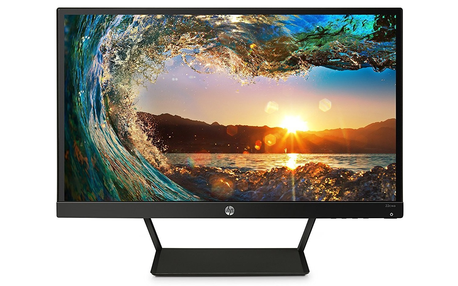 Image of a HP PC display for less than 100 dollars