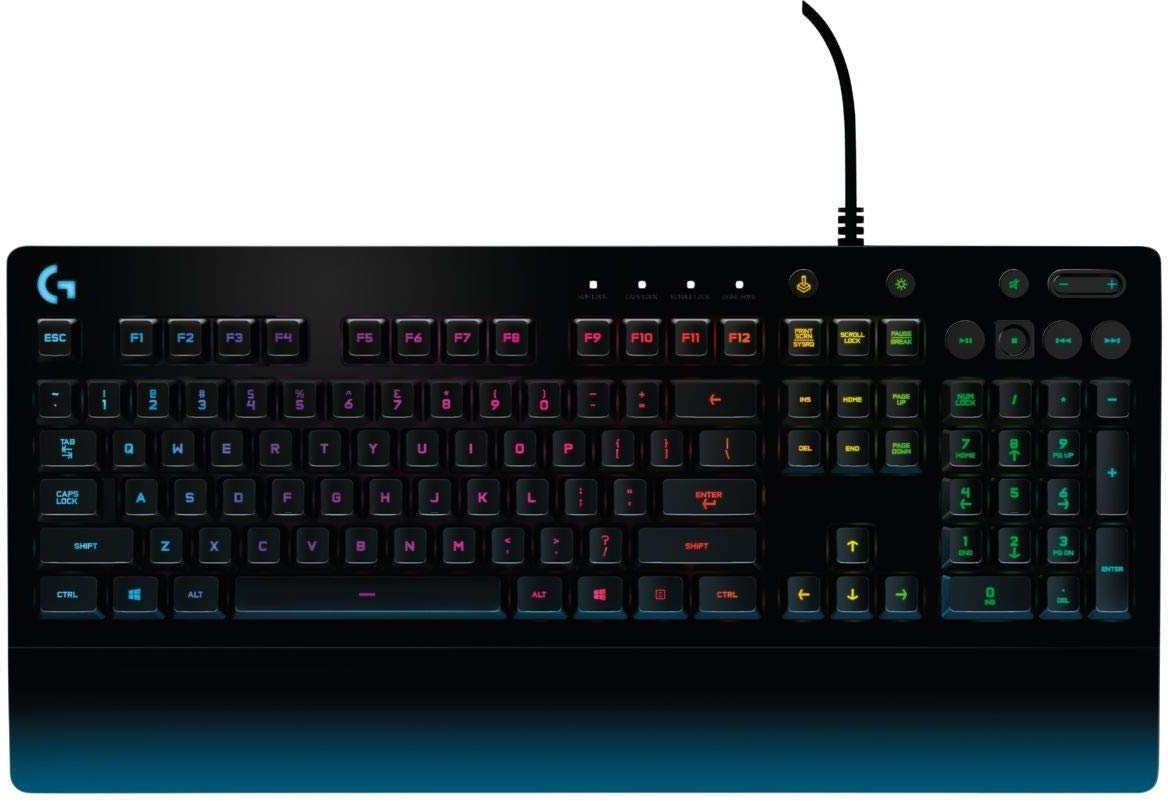 Image of G213 logitech keyboard
