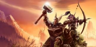 Warcraft wallpaper showing 3 heroes