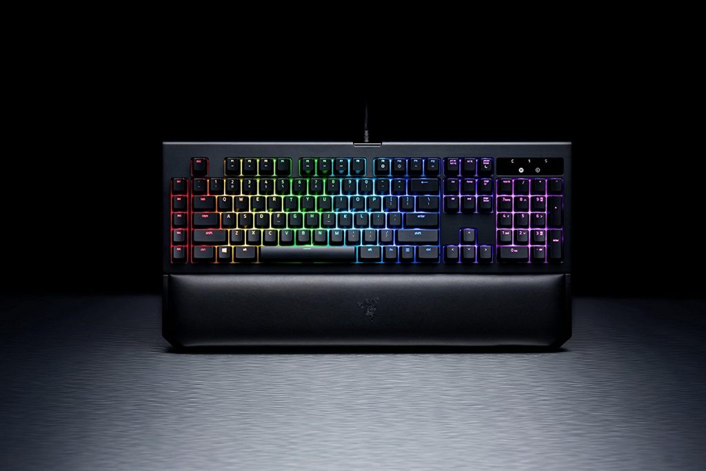 Picture of Razer Blackwidow mechanical keyboard