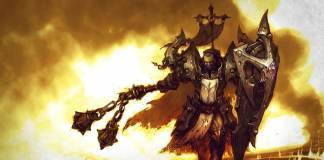 Diablo wallpaper of Male crusader
