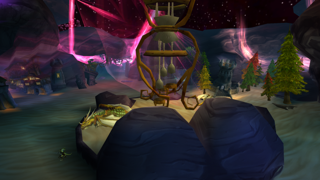 Image of the Caverns of Time in world of warcraft