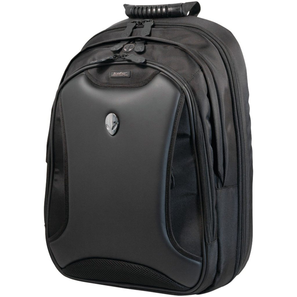 Image of gaming backpack by Alienware