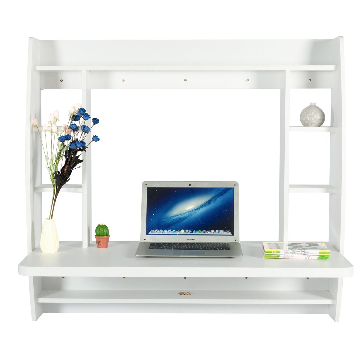 Image of wall mounted office desk
