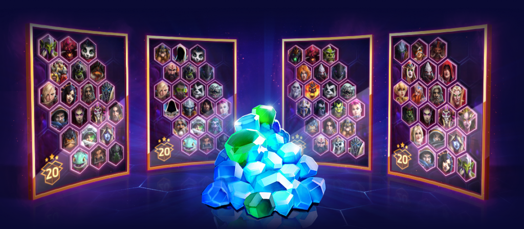 Image of Heroes from Hots
