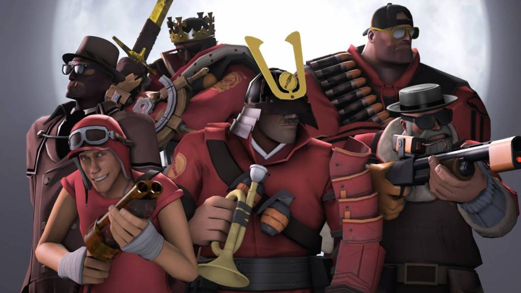 Wallpaper of Team Fortress 2
