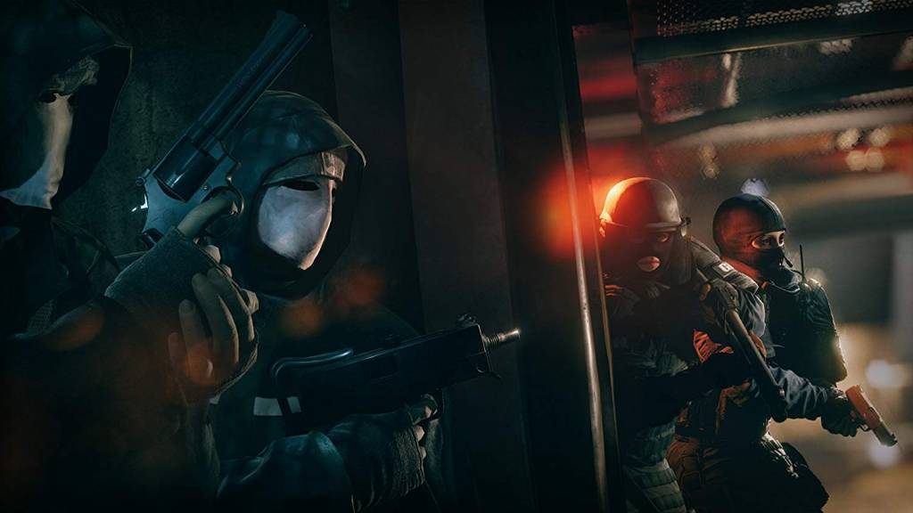 Screenshot from Rainbow Six Siege video game