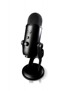 Image of microphone for streaming