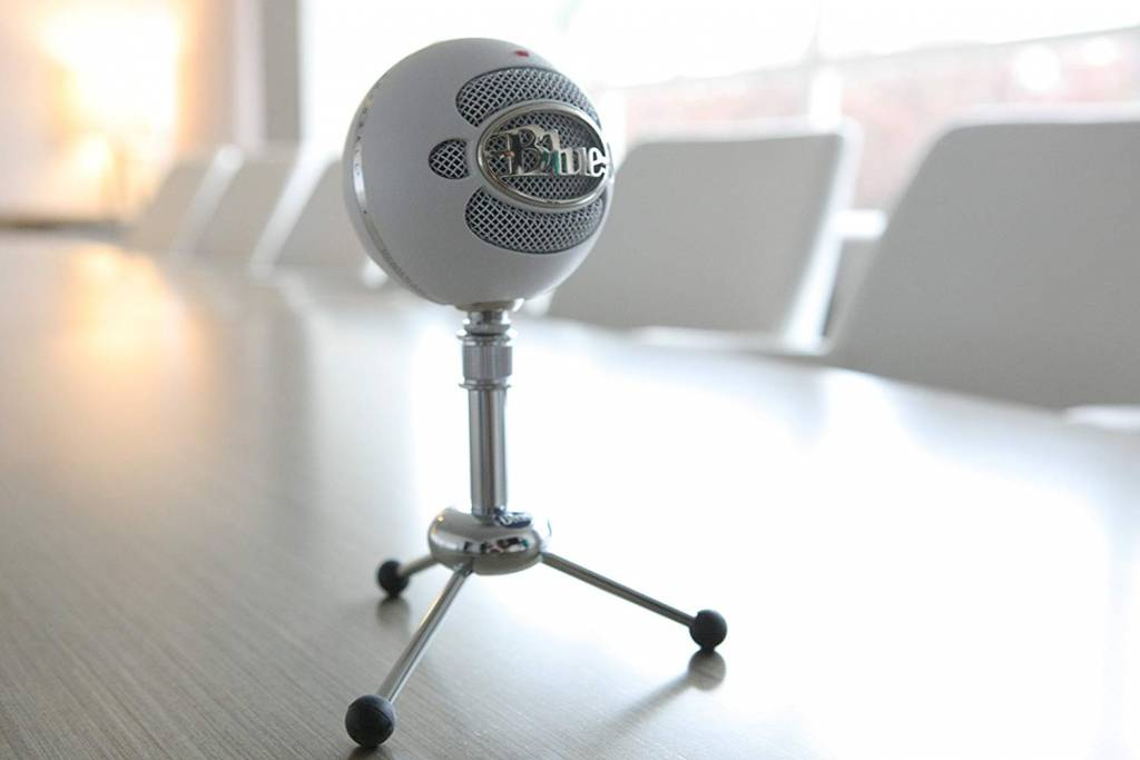 Image of Blue Snowball microphone