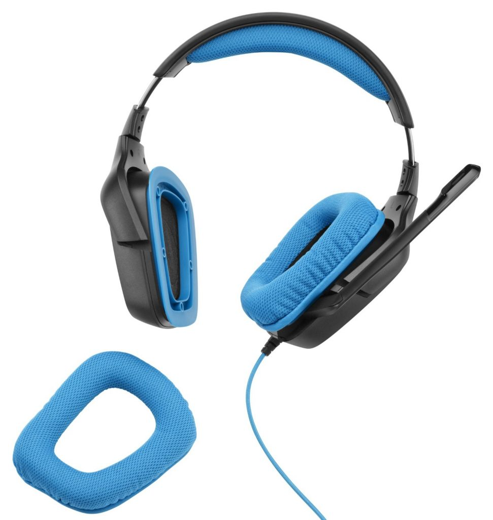 Picture of Logitech headphones