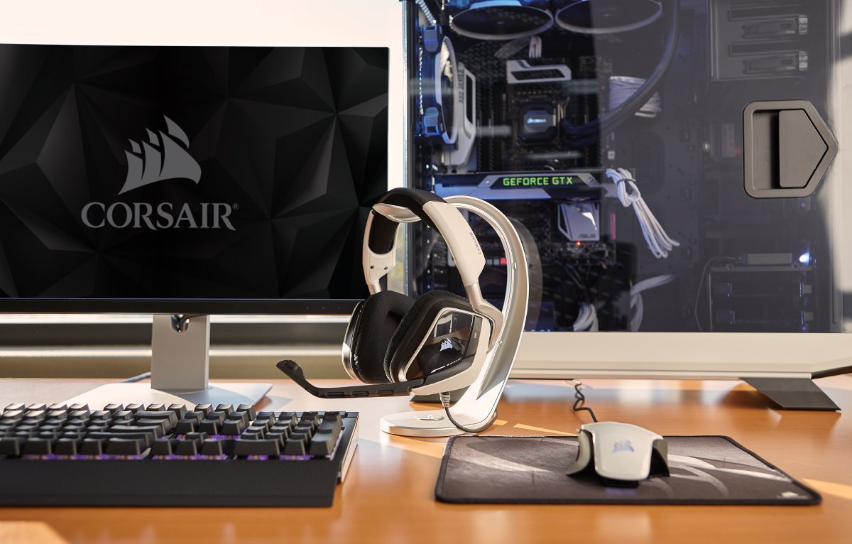 Image of Corsair gaming set-up
