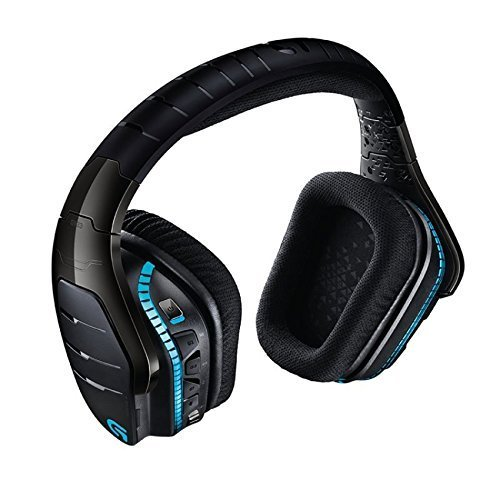 Image of wireless gaming headset from Logitech