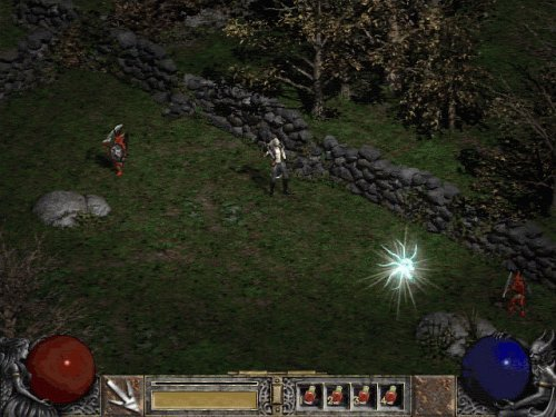 In-game Diablo 2 screenshot