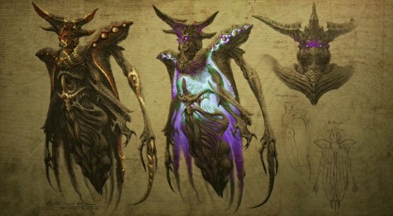 Image of Belial, lord of lies from Diablo 3