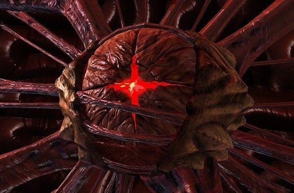 Image of the Overmind from Starcraft 2