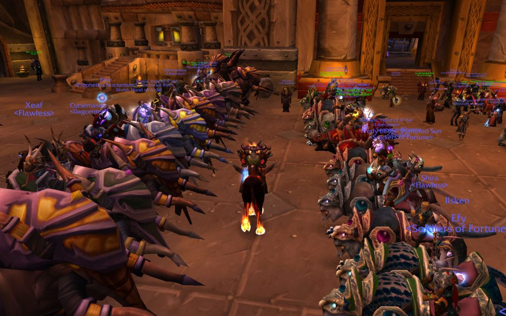 Wow screenshot from the Burning Crusade expansion