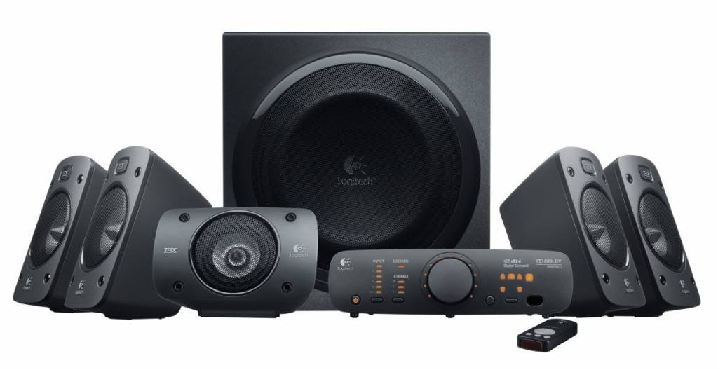 Image of 5.1 logitech speakers for PC use
