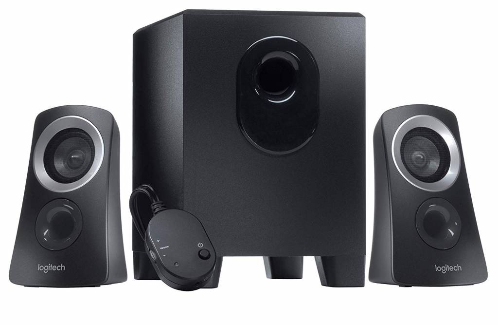 Image of Logitech Z313 2.1 speakers for pc use
