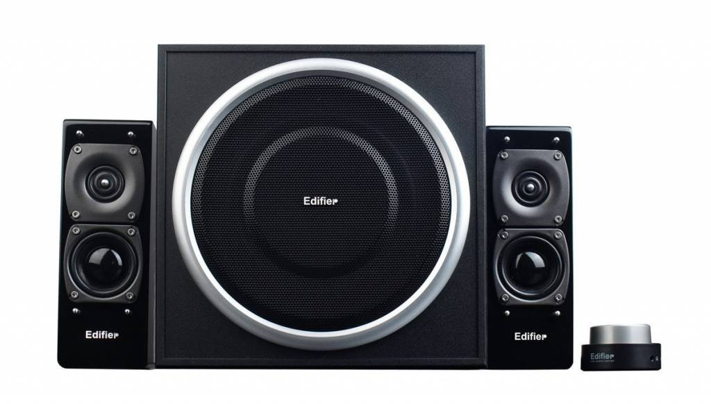 Image of black 2.1 audio system from Edifier