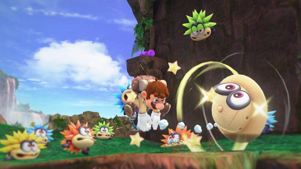 Screenshot from Super Mario Odyssey