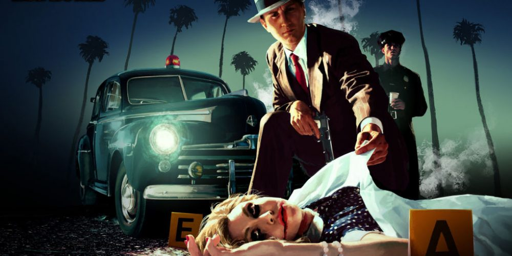 Wallpaper of LA Noire Virtual reality