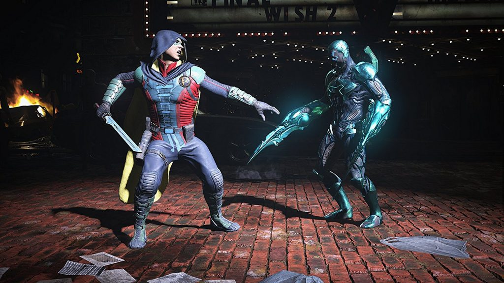 Screenshot from Injustice 2