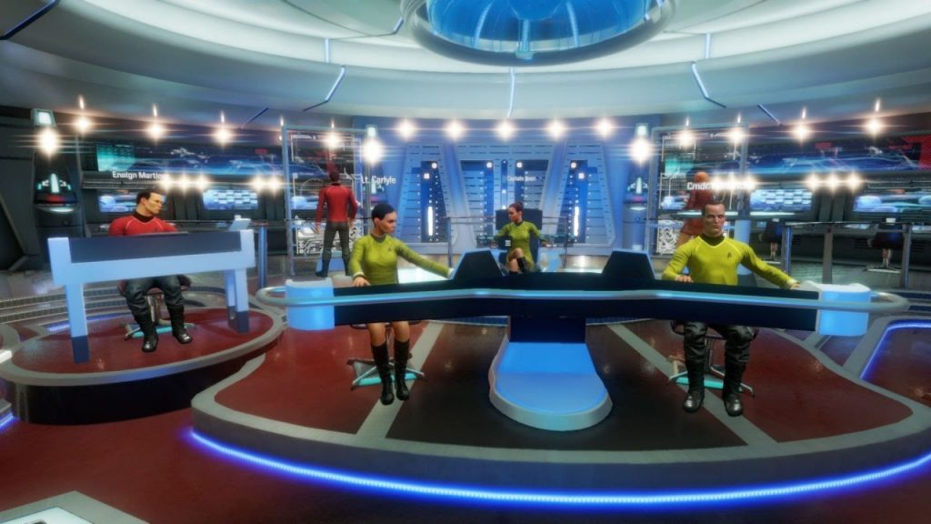 Screenshot from Star Trek VR