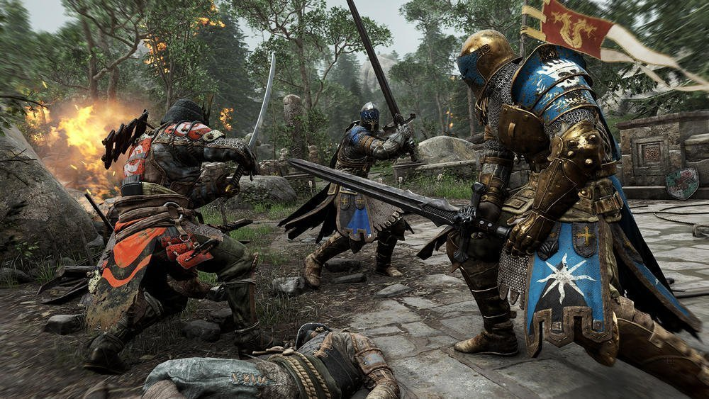 Screenshot from PS4 game for Honor