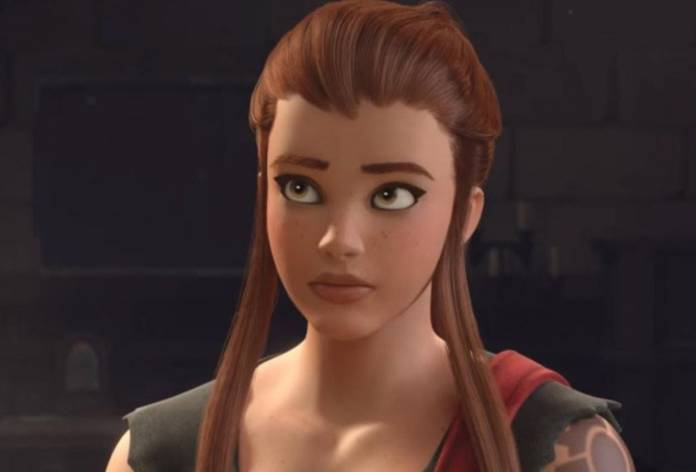 Image of Birgitte, the new Overwatch hero